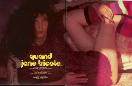 Jane Birkin magazine 20 Ans n° 159 novembre 1975