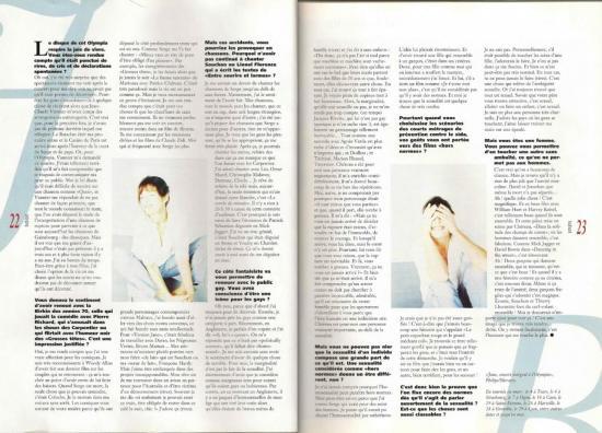 jane birkin magazine presse Idol, n° 31, mars 1997