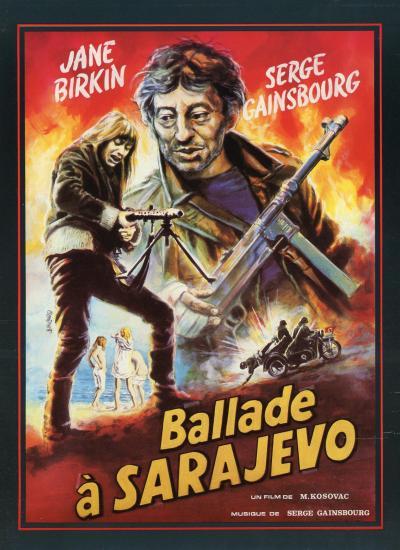 Ballade à Sarajevo jane birkin et serge gainsbourg dossier de presse