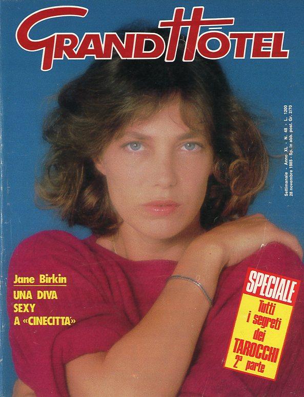 GrandHotel, 1985, Italie