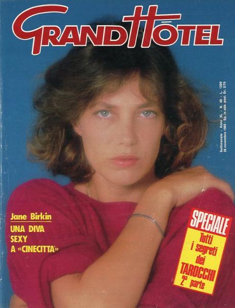 Grand hotel anno xl n 48 28 novembre 1985 italie