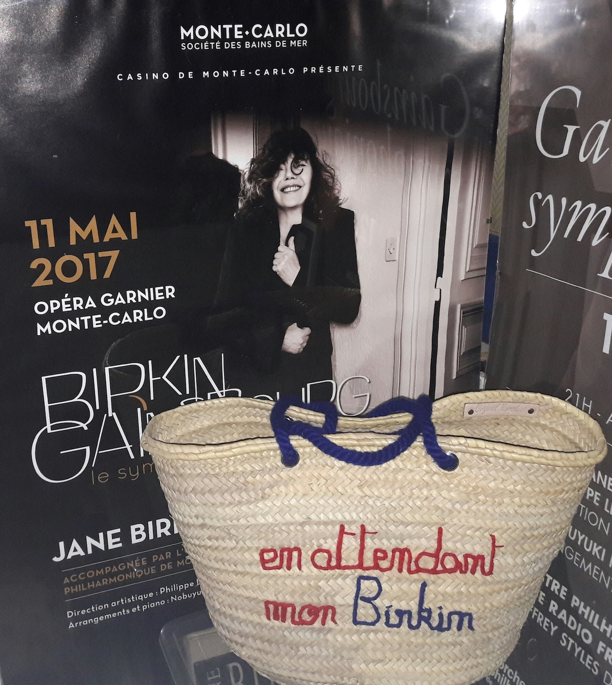 Jane birkin birkin bag concert monaco