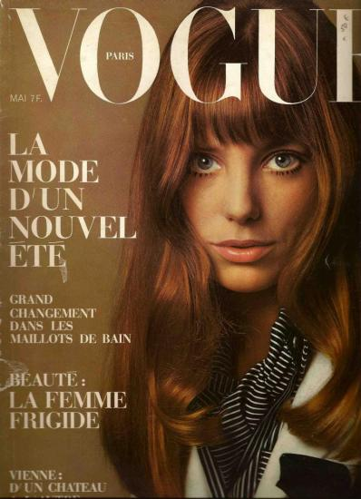 Jane Birkin couverture magazine Vogue mai 1969