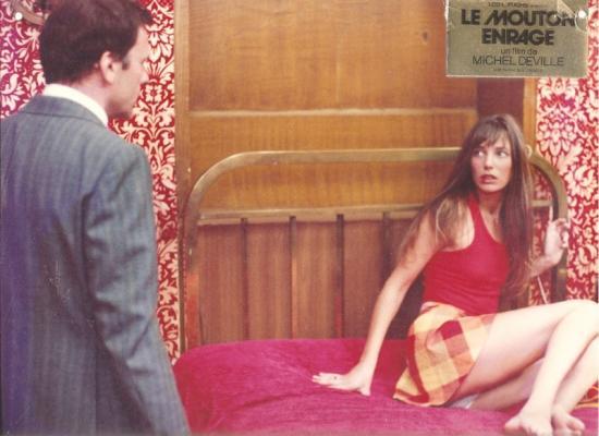 Jane Birkin et Jean-Louis Trintignant film Le mouton enragé de Michel Deville 1974 photo d'exploitation