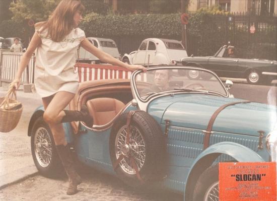 Jane Birkin et Serge Gainsbourg film Slogan 1969 de Pierre Grimblat