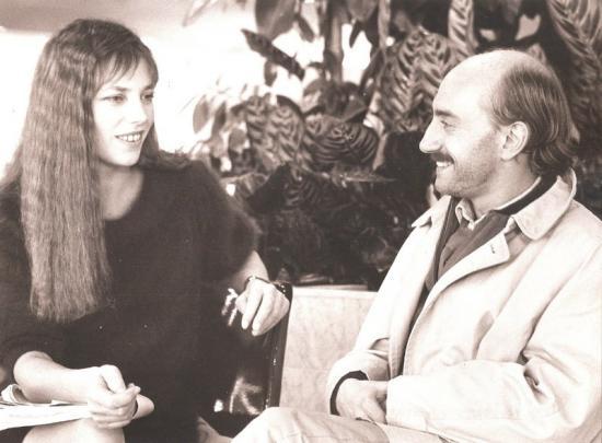 Jane Birkin et Michel Blanc film Circulez y'a rien à voir