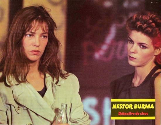 jane birkin film nestor burma détective de choc, photo d'exploitation