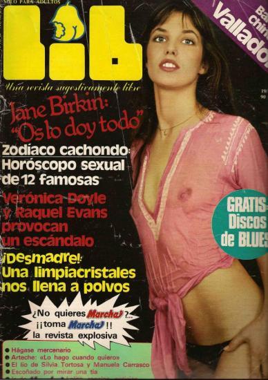 Jane Birkin magazine LIB n° 239 ano 6 19 mai 1981