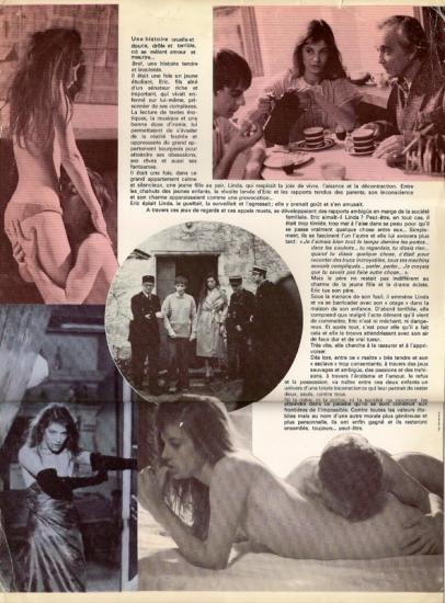Jane Birkin dossier de presse film Le diable au coeur