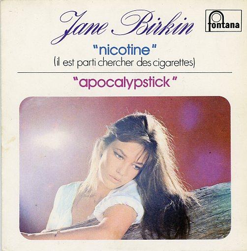 Jane Birkin nicotine