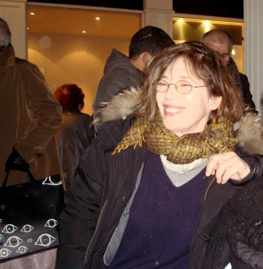 Jane Birkin, janvier 2013 - photo C.P.