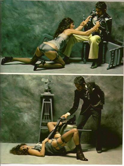 jane birkin et serge gainsbourg - magazine Lui ou Playboy