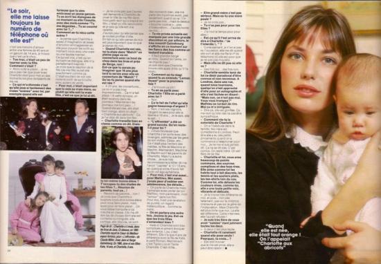 jane birkin paris match-n-2021-19-fevrier-1988