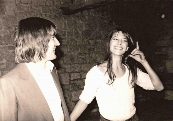 jane birkin et serge lama photo agence agip