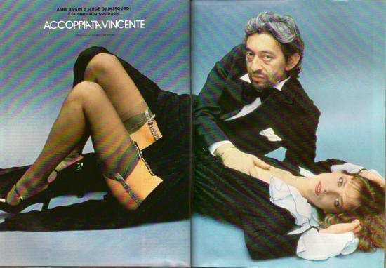 Jane Birkin et Serge Gainsbourg Playmen, edition italienne - n 7, juillet 1979