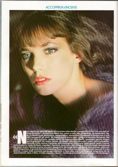 Jane Birkin Playmen, edition italienne - n 7, juillet 1979 d