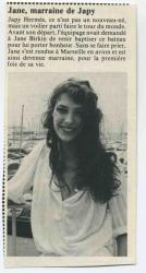 Jane Birkin article de presse