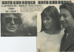 Jane Birkin Gainsbourg Hallyday article presse française