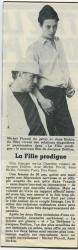 Jane Birkin La Fille prodigue article presse française