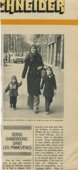 Jane Birkin article presse