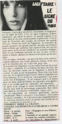 Jane Birkin horoscope presse française