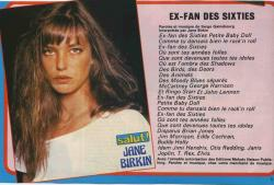 jane birkin ex fan des sixties article de presse