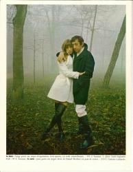 Jane Birkin et Serge gainsbourg - magazine Lui, n° 61, janvier 1969